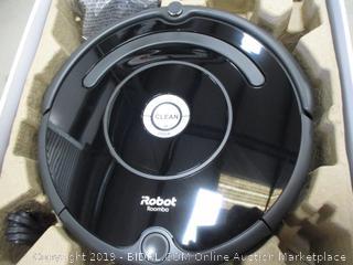 iRobot Roomba Vacuuming Robot Powers On