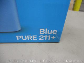 Blue Air Purifier in box Powers On