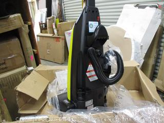 Tornado Commercial Vacuum Cleaner Powers On