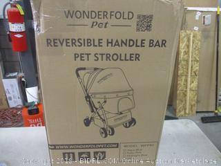 Reversible Handle Bar Pet Stroller
