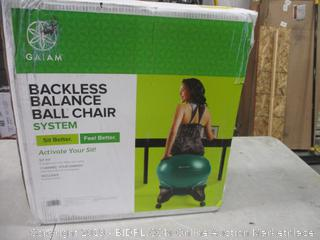 Gaiam Backless Balance Ball Chair System