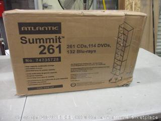 Atlantic Summit 261 CD/DVD Rack