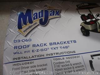 Mad Jax Roof Rack Brackets