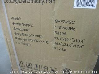 Shinco Portable Air Conditioner factory sealed