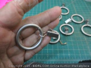 1 in Curtain Clip Rings