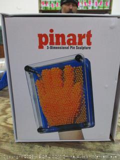 Pinart 3D Dimensional Pin Sculpture