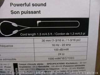 Panasonic Lightweight Headphones Factory Sealed