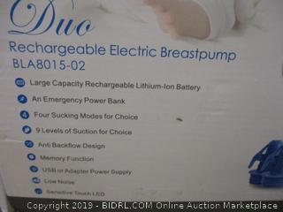 Duo rechargeable electric Breastpump