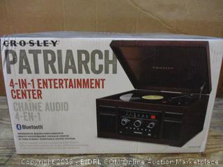 Crosley Patriarch 4 in 1 Entertainment center