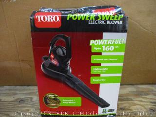 TORO Power Sweep electric Blower