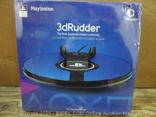 Play Station 3dRudder the Foot Powered Motion Controller