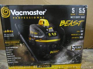 Vacmaster minor damage