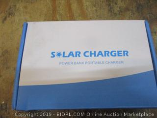 Solar Charger Power Bank Portable Charger