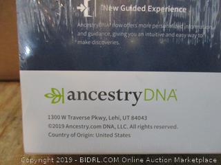 Ancestry DNA damaged package