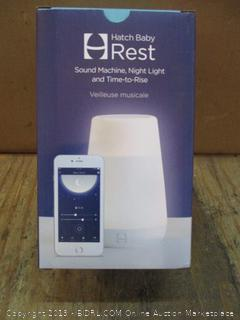 Hatch Baby Rest Sound Machine, Night Light and Time to Rise