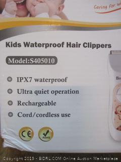 Kids Waterproof Hair Clippers