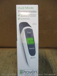 Dual Mode Thermometer