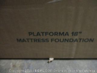 """Zinus 18"""" Platform Mattress Foundation, Queen"""