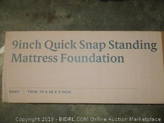 Zinus 9 Inch Quick Snap Standing Mattress Foundation, Twin