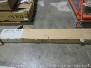 Zinus 14 Inch Solid Wood Platform Bed, Queen