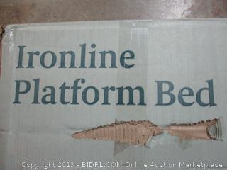 Zinus Ironline Platform Bed, Queen