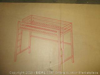 Twin Metal Loft Bed