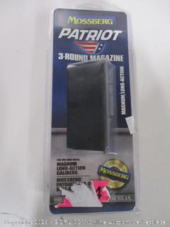 Mossberg Patriot 3 Round Magazine