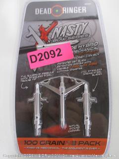 Dead Ringer X-Nasty Crossbow 100gr Broadhead