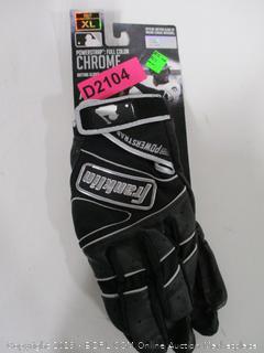 Franklin Powerstrap Chrome Series Batting Gloves