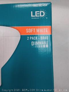 EcoSmart LED Flood Light Bulb 75 Watt Equivalent BR40 Dimmable (Online $10)