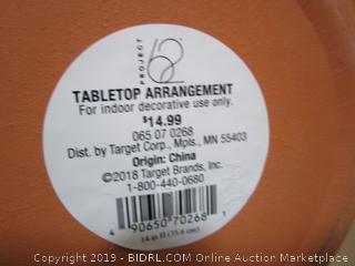 Tabletop Arrangement