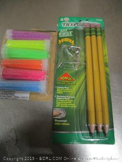Ticonderoga Pencils And Glitters