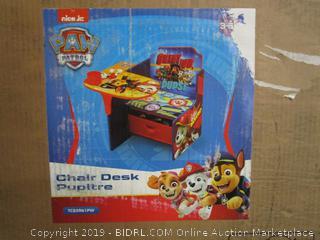 Paw Patrol Chair Desk