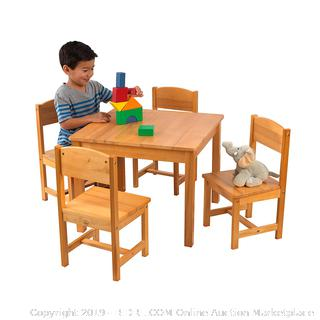KidKraft Farmhouse Table and Chairs (retail $115)
