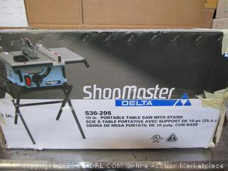 Delta Shopmaster Table Saw (please preview)