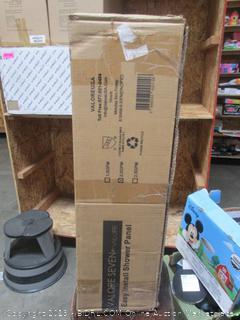 Valore Seven Easy Install Rain Shower Panel (retail $179)