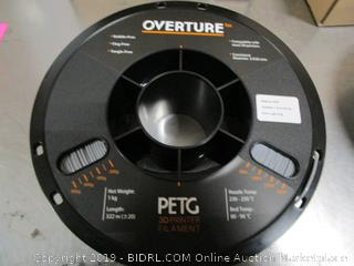 Overture PETG 3D Printer Filament
