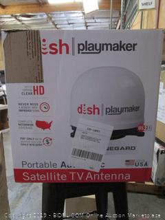 Winegard Dish Playmaker Satellite TV Antenna (retail $249)