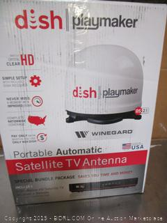 Dish Playmaker Satellite Antenna w/Receiver (retail $389)