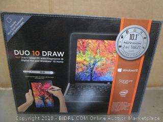 NoVision Duo 10 Draw Pad