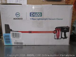 Moosoo Lightweight Vacuum Cleaner