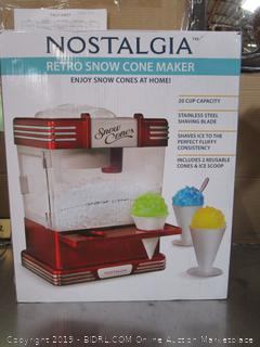 Nostalgia Retro Snow Cone Maker