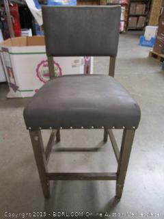 Leather and Wood Chair