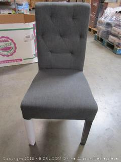 Gray Fabric Chair