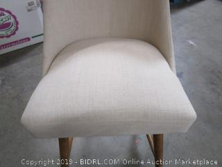 Ivory Fabric Chair