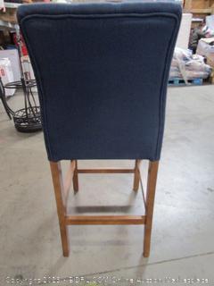 Blue Fabric Chair