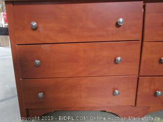 Wood Chest of Drawers Dresser