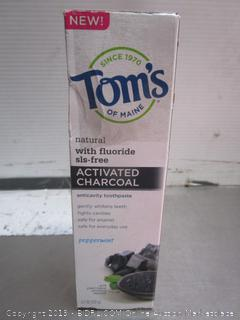 Toms Charcoal Toothpaste