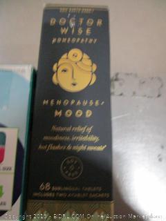 Children's Cough Syrup, Lansoprazole Capsule, Menopause Mood - Misc Lot