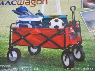 Mac Sports - MacWagon Folding Utility Wagon (Red)